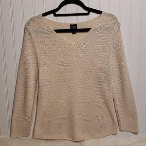 Eileen Fisher Silk/Nylon Lightweight Sweater
